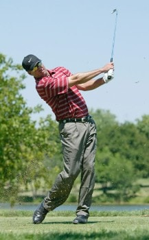 Chris Couch in action during the final round of the Preferred Health Systems Wichita Open, Crestview Country Club, Wichita, Kansas. Sunday, July 31st, 2005Photo by Hunter Martin/WireImage.com