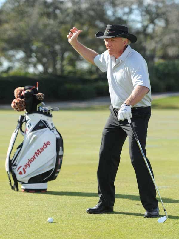 Golf Channel Academy, Greg Norman