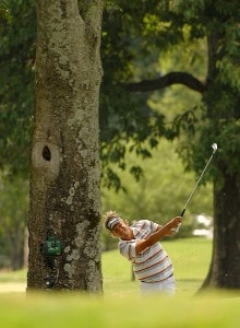 Fredrik Jacobson on the 9th hole during the fourth and final round of the Stanford St. Jude Championship at the TPC Southwind on Sunday, June 10, 2007 in Memphis, Tennessee PGA TOUR - 2007 Stanford St. Jude Championship - Final RoundPhoto by Marc Feldman/WireImage.com