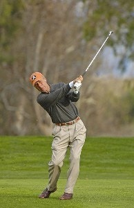 Ben Crenshaw in action during the second round of the 2006 AT&T Classic on Saturday, March 11, 2006 at  Valencia Country Club in Valencia, CaliforniaPhoto by Marc Feldman/WireImage.com