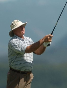 Jim Albus in action during the first round of the 2005 Boeing Greater Seattle Classic at TPC Snoqualmie in Snoqualmie, Washington August 19, 2005.Photo by Steve Grayson/WireImage.com