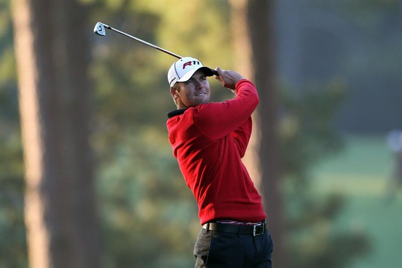 AUGUSTA, GA - APRIL 07:  Sean O'Hair hits a shot on the first hole during the first round of the 2011 Masters Tournament at Augusta National Golf Club on April 7, 2011 in Augusta, Georgia.  (Photo by Jamie Squire/Getty Images)