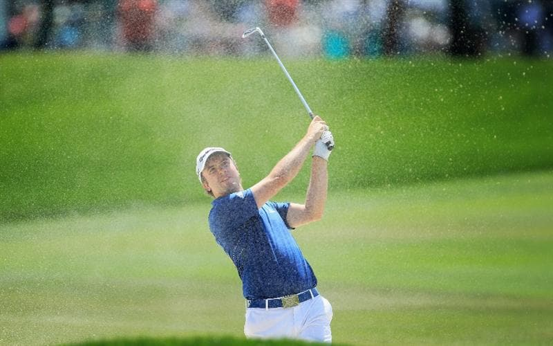 ORLANDO, FL - MARCH 27:  Martin Laird of Scotland plays his second shot on the 1st hole during the final round of the 2011 Arnold Palmer Invitational presented by Mastercard at the Bay Hill Lodge and Country Club on March 27, 2011 in Orlando, Florida.  (Photo by David Cannon/Getty Images)