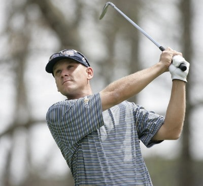 Jason Schultz during the second round at the BellSouth Classic at TPC Sugarloaf in Duluth, Georgia, on March 31, 2006.Photo by: Stan Badz/WireImage