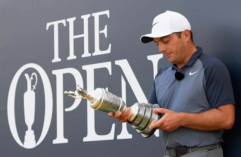 Molinari wins first major at The Open