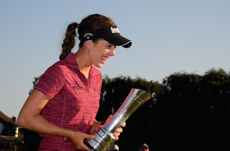 Hall breaks through at Women's British Open
