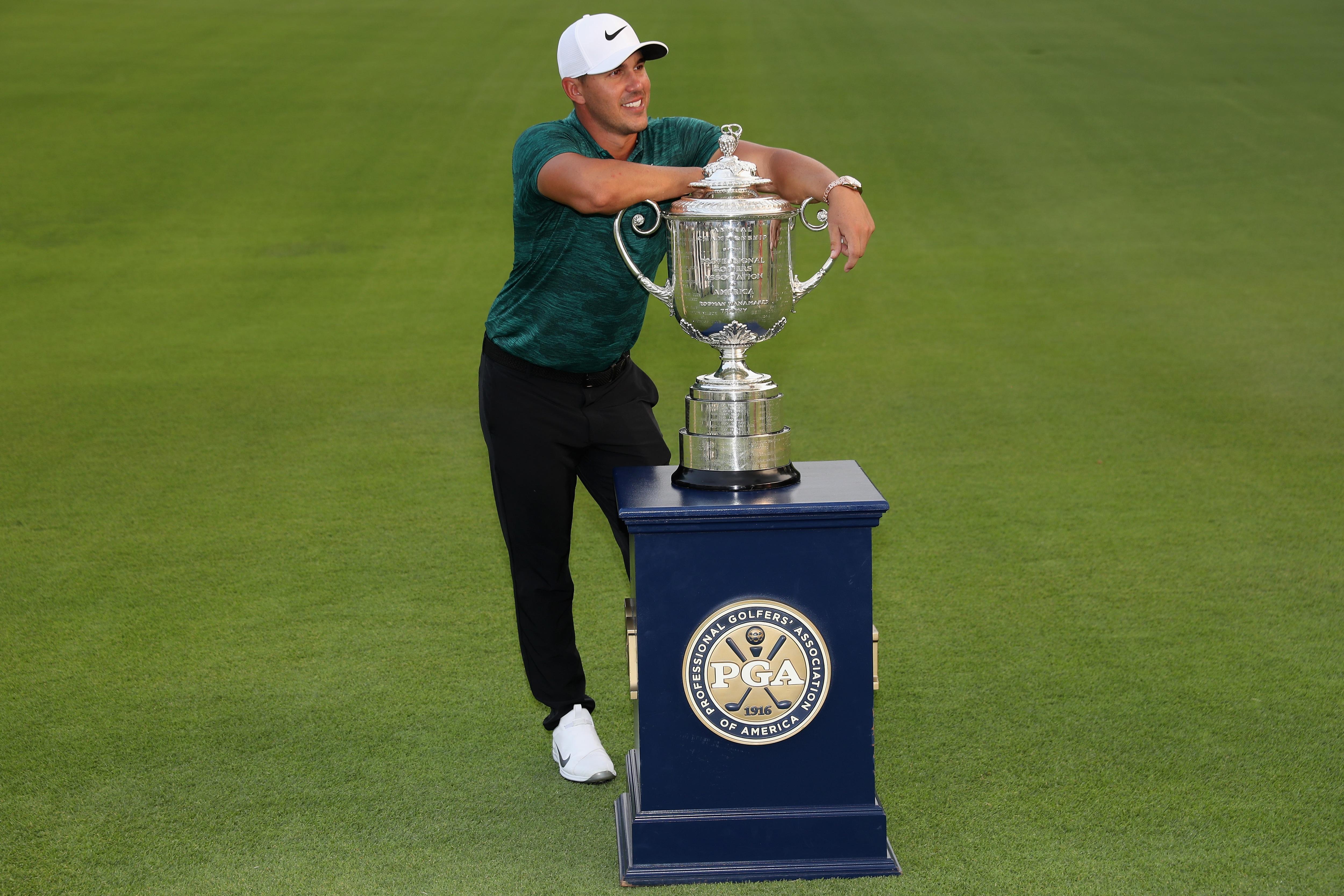 Brooks Koepka at the 2018 PGA Championship