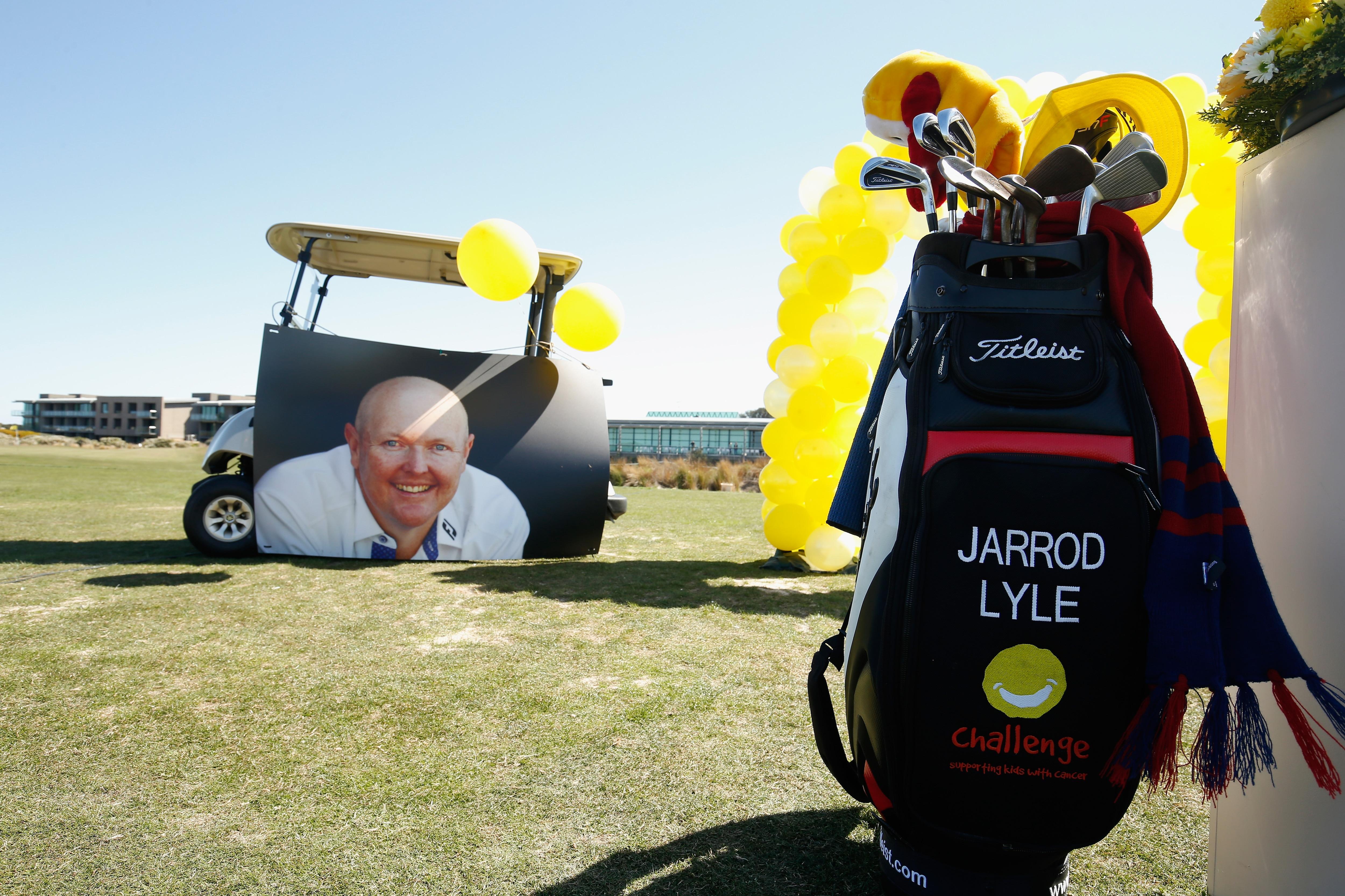 Jarrod Lyle's memorial service