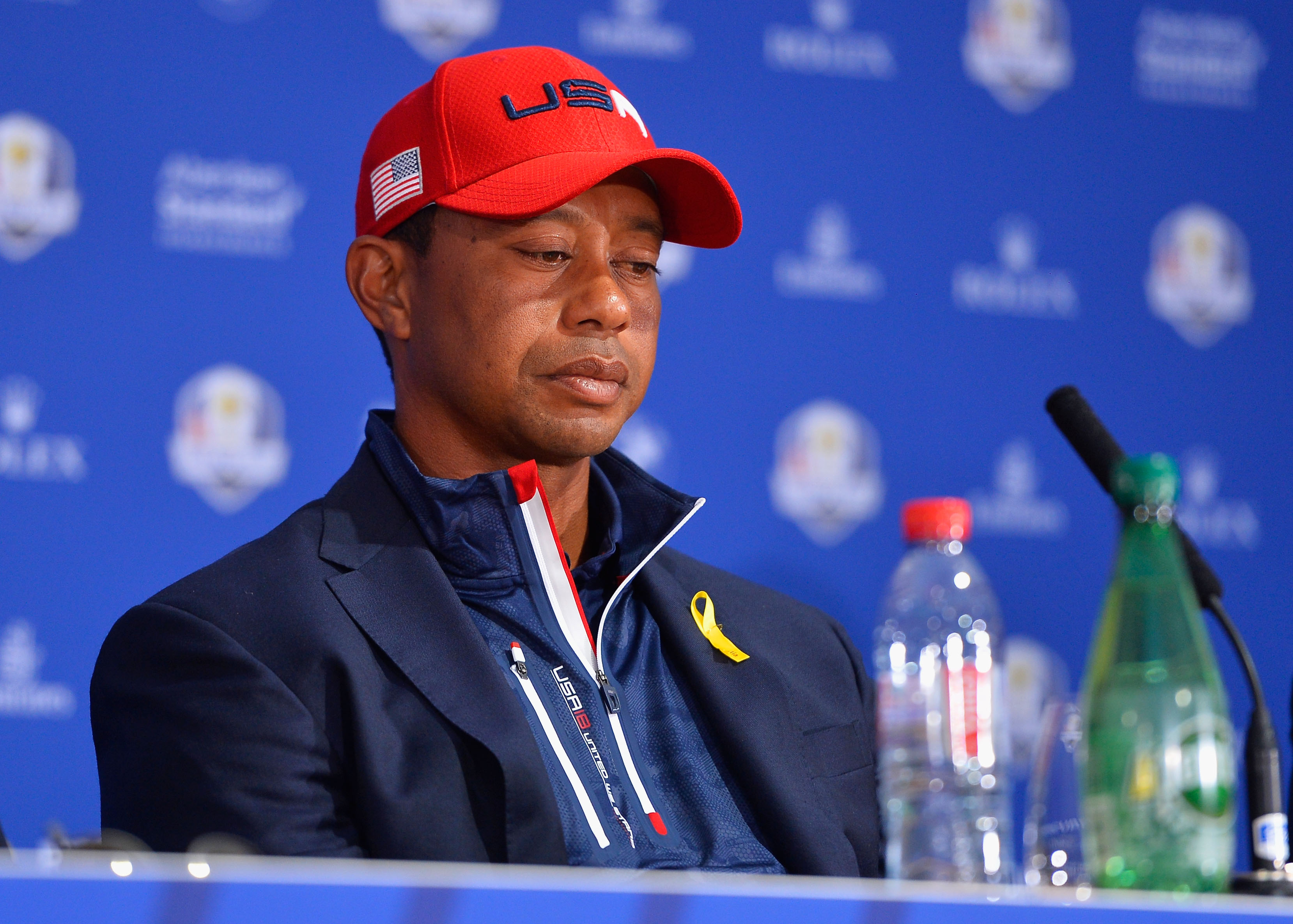 Tiger Woods at the 2018 Ryder Cup