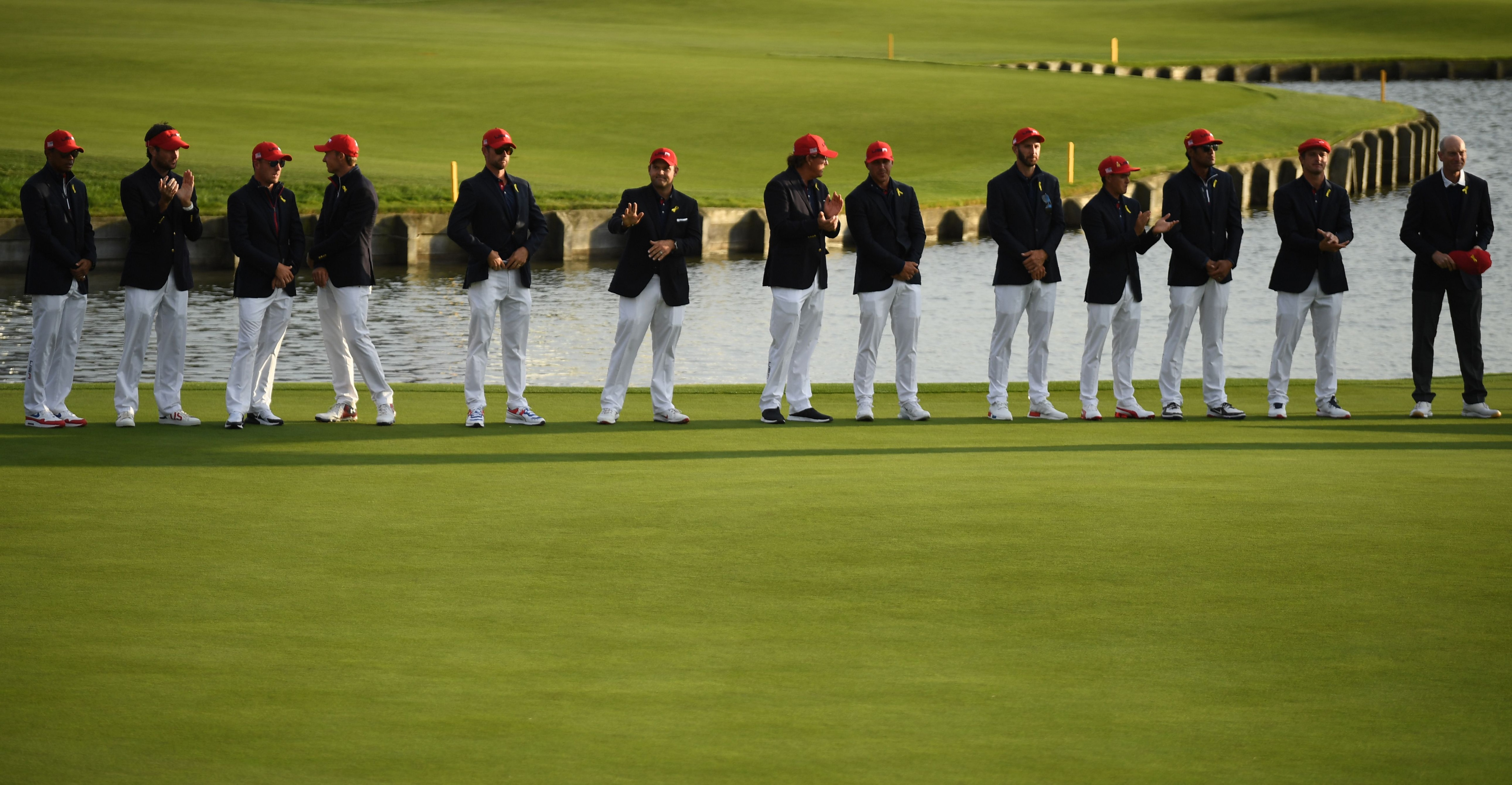 The 2018 U.S. Ryder Cup team