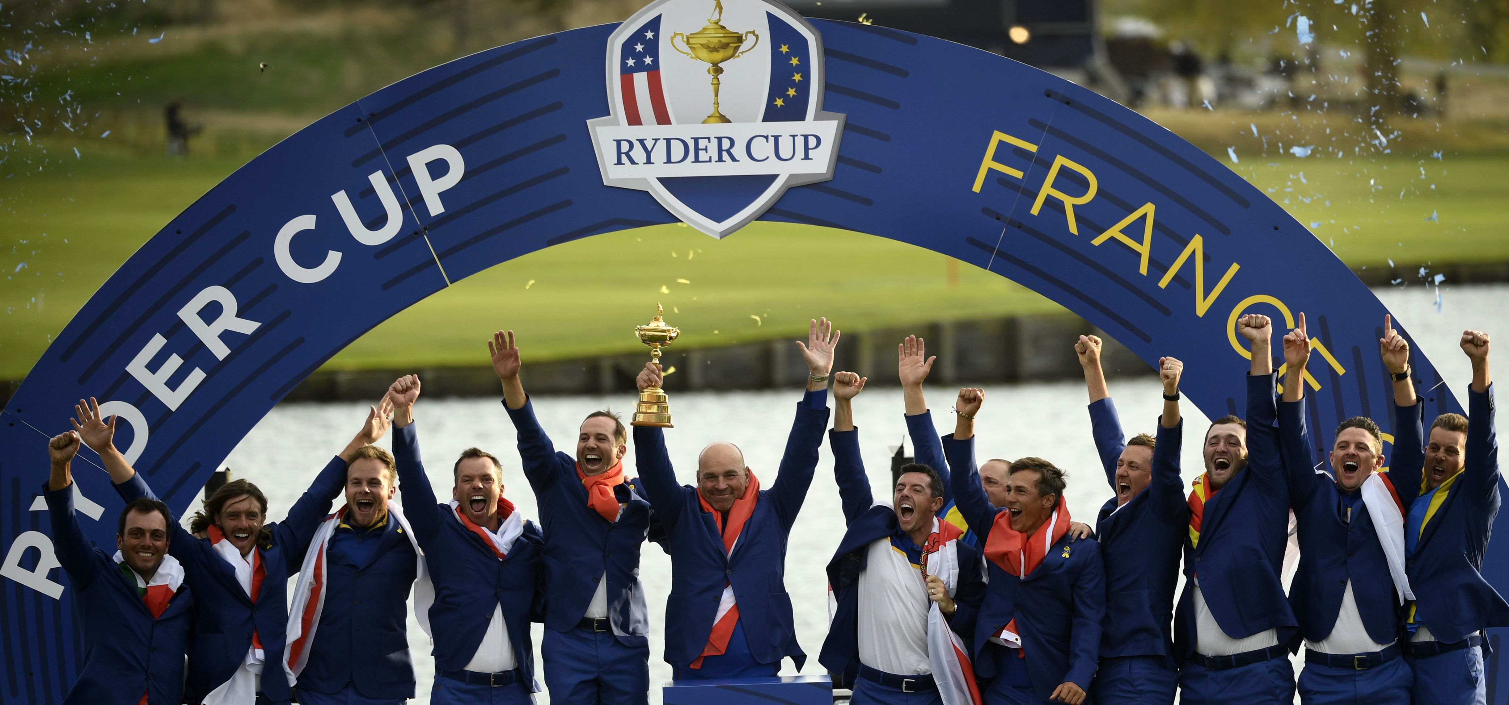 Team Europe at the 2018 Ryder Cup