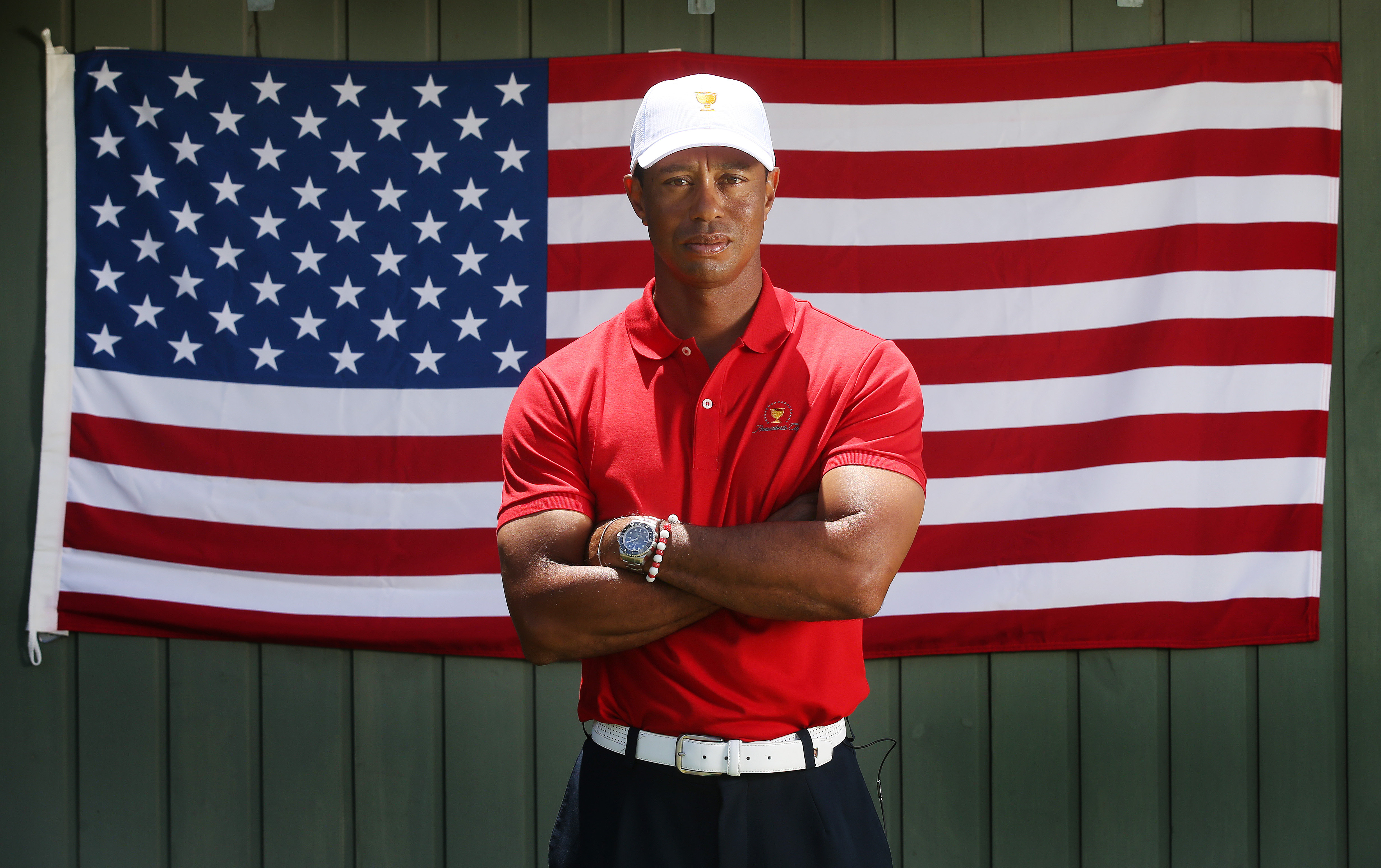 Tiger Woods ahead of the 2019 Presidents Cup