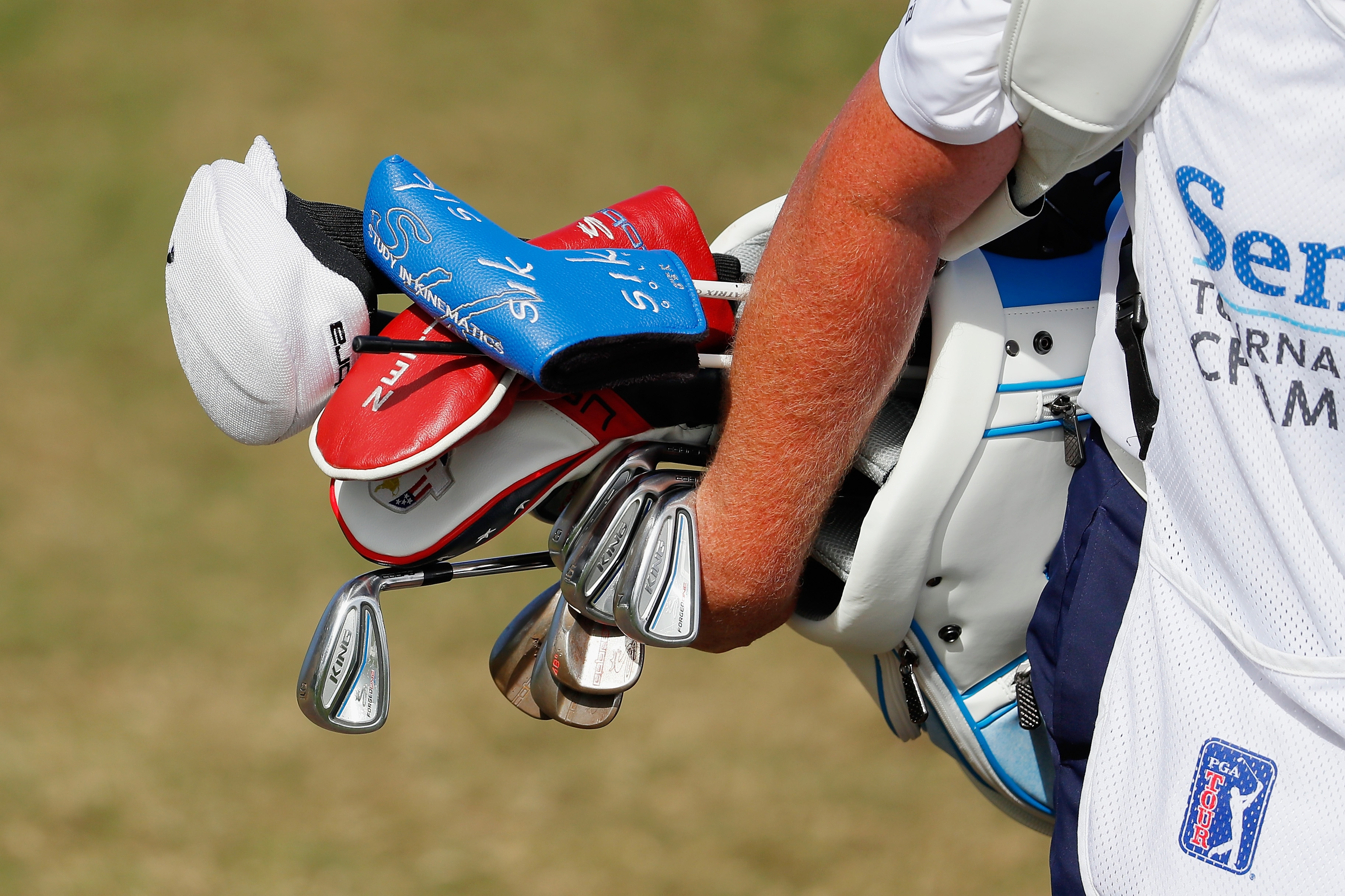 Bryson DeChambeau's golf bag