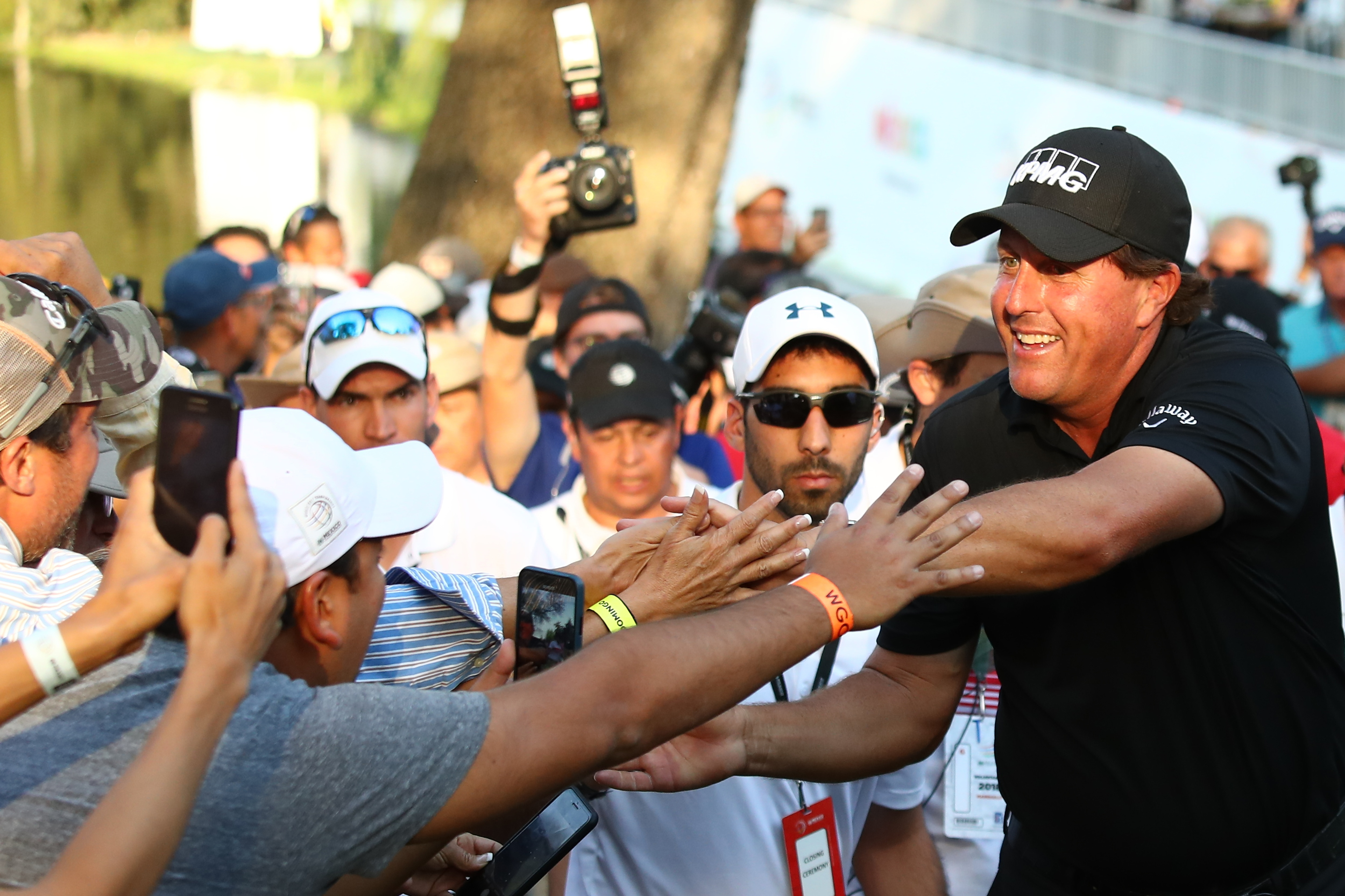 Phil Mickelson at the 2018 WGC-Mexico Championship