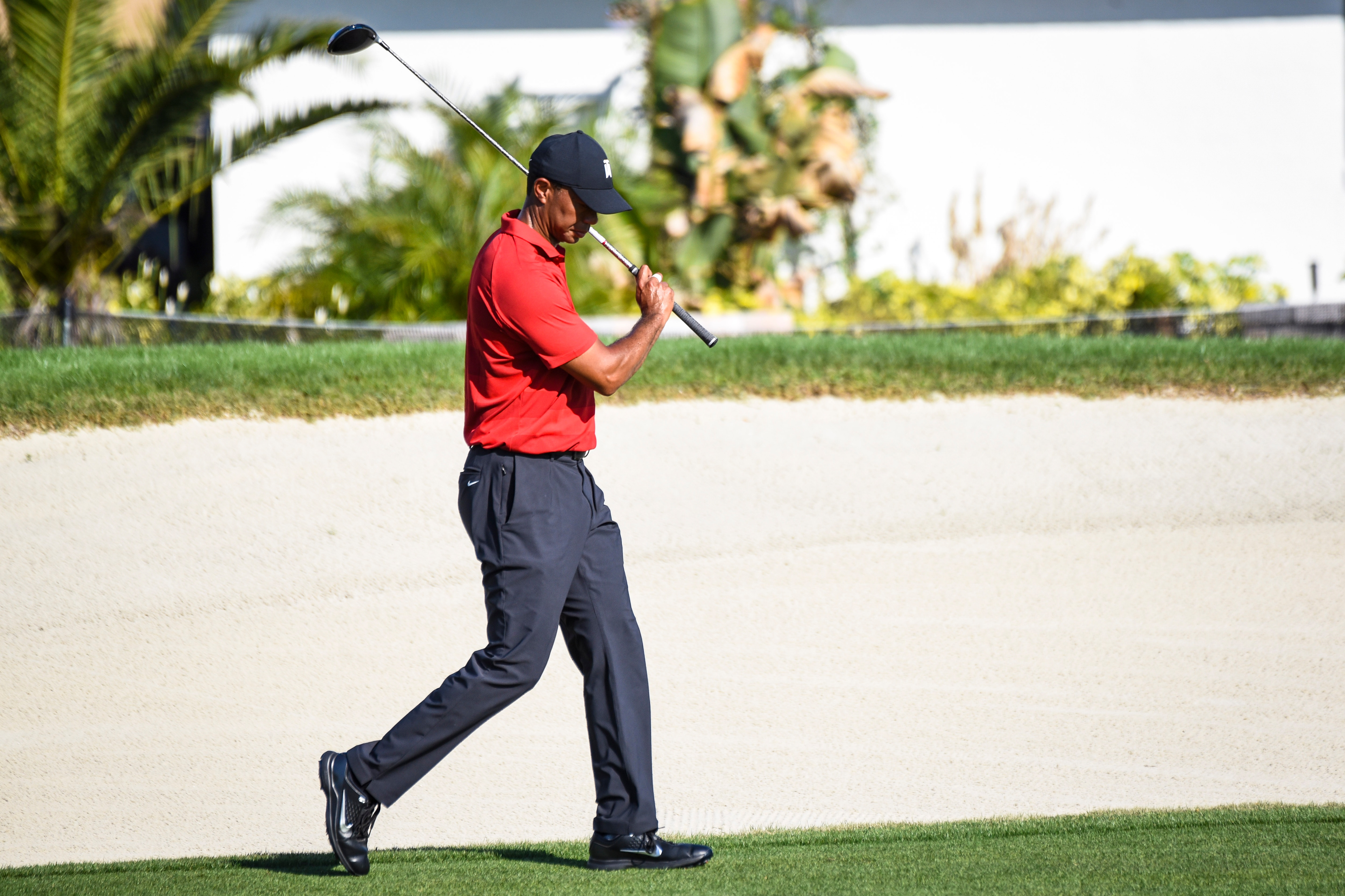 Tiger Woods at the 2018 Arnold Palmer Invitational