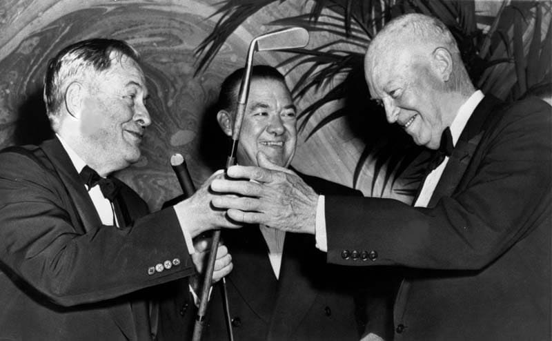 Bobby Jones and President Dwight D.Eisenhower