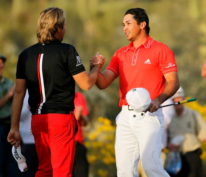 Jason Day and Victor Dubuisson