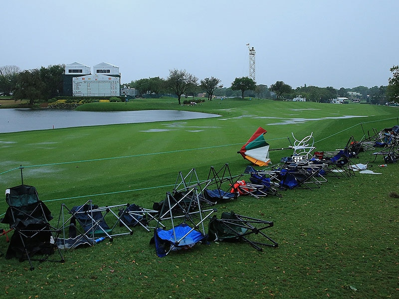 5. Flooding at Bay Hill
