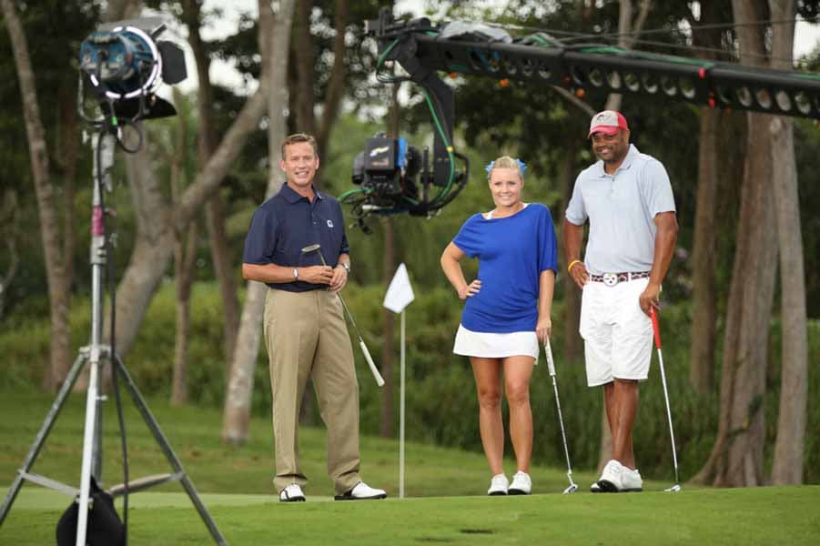 A Behind the Scenes Look at the Taping of Big Break Academy.