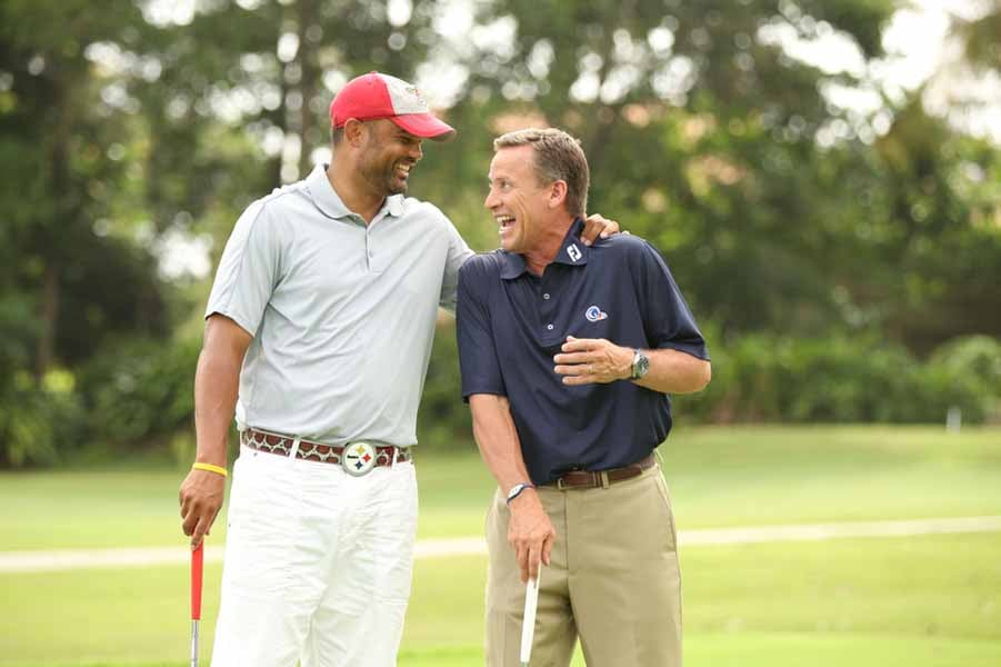 Brian Cooper and Michael Breed
