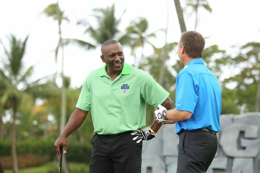 Tim Brown and Michadel Breed Talking Golf.