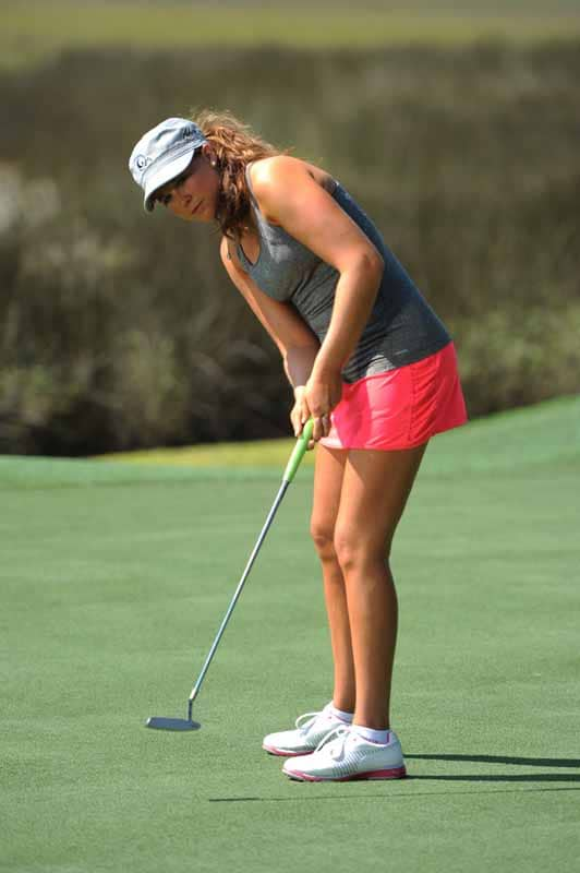 Kylee Duede Putts on Big Break Florida