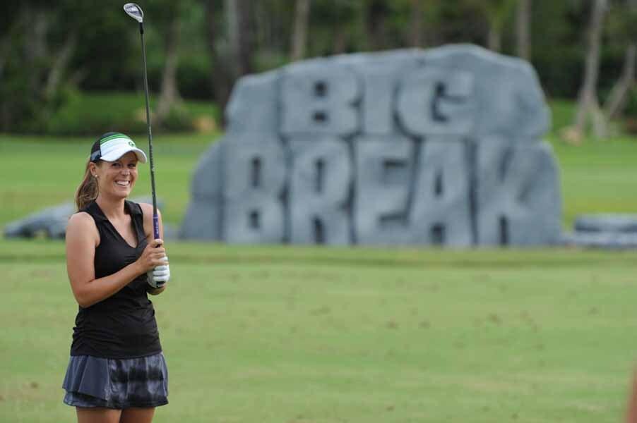 Mallory Blackwelder Hits the Range on Big Break NFL Puerto Rico.