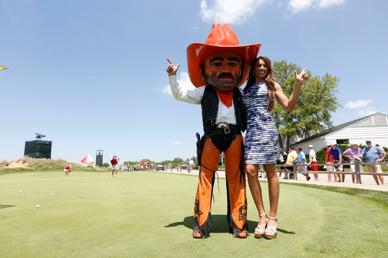 Holly Sonders and Pistol Pete
