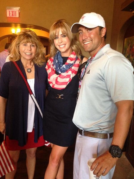 Paula Creamer and Derek Heath