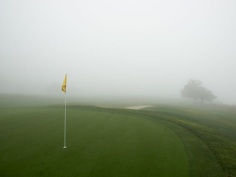 9. Fog at Farmers Insurance Open