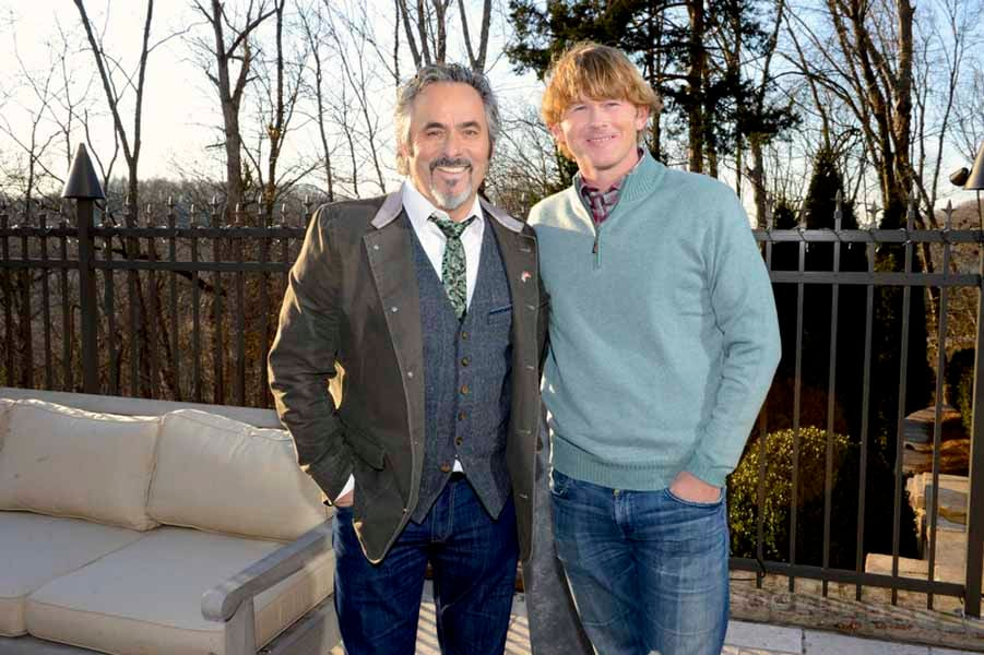 Feherty and Snedeker Pose For a Picture