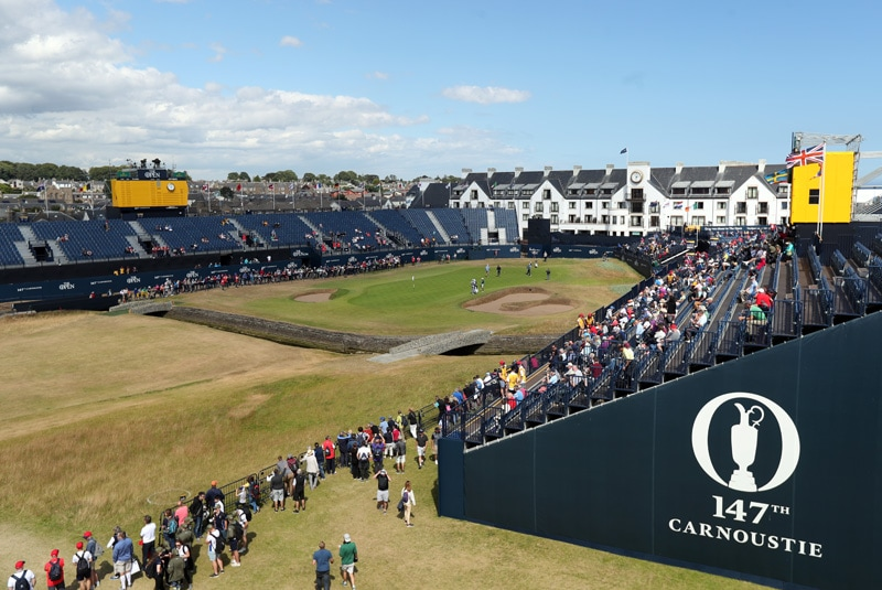 18th at Carnoustie