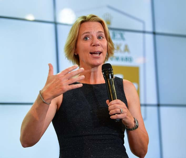 Annika Sorenstam, 2018 Evian Championship