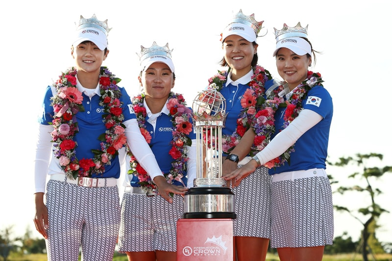 Sung Hyun Park, In-Kyung Kim, In Gee Chun and So Yoen Ryu