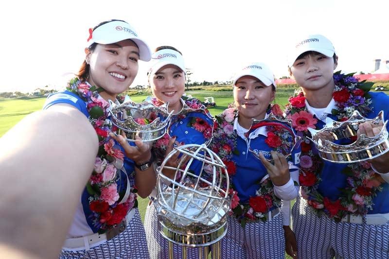 In Gee Chun, So Yoen Ryu, In-Kyung Kim and Sung Hyun Park