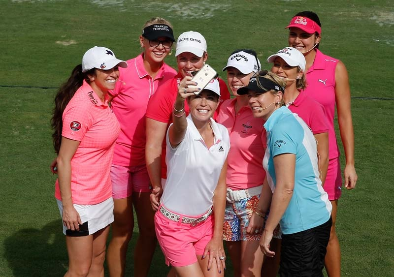 Annika Sorenstam, 2015 Morgan & Friends