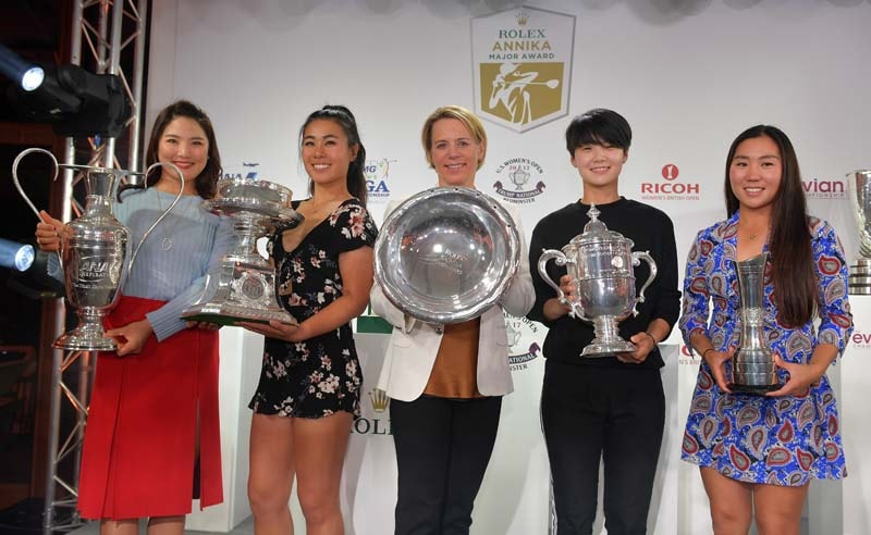 Annika Sorenstam, 2017 Evian Championship