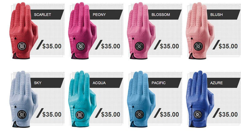 10. G/FORE gloves