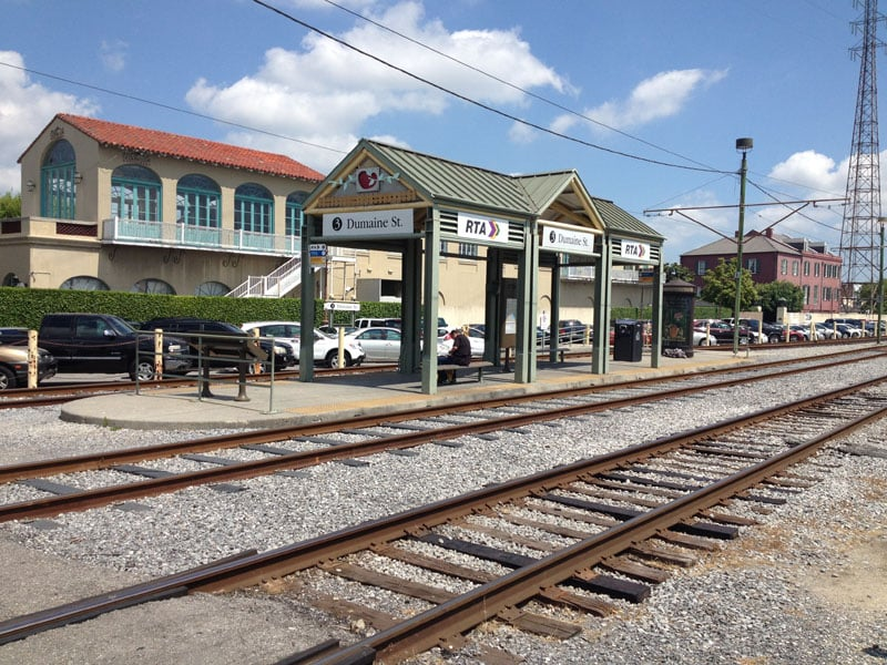 New Orleans: A city that's gaining track-tion