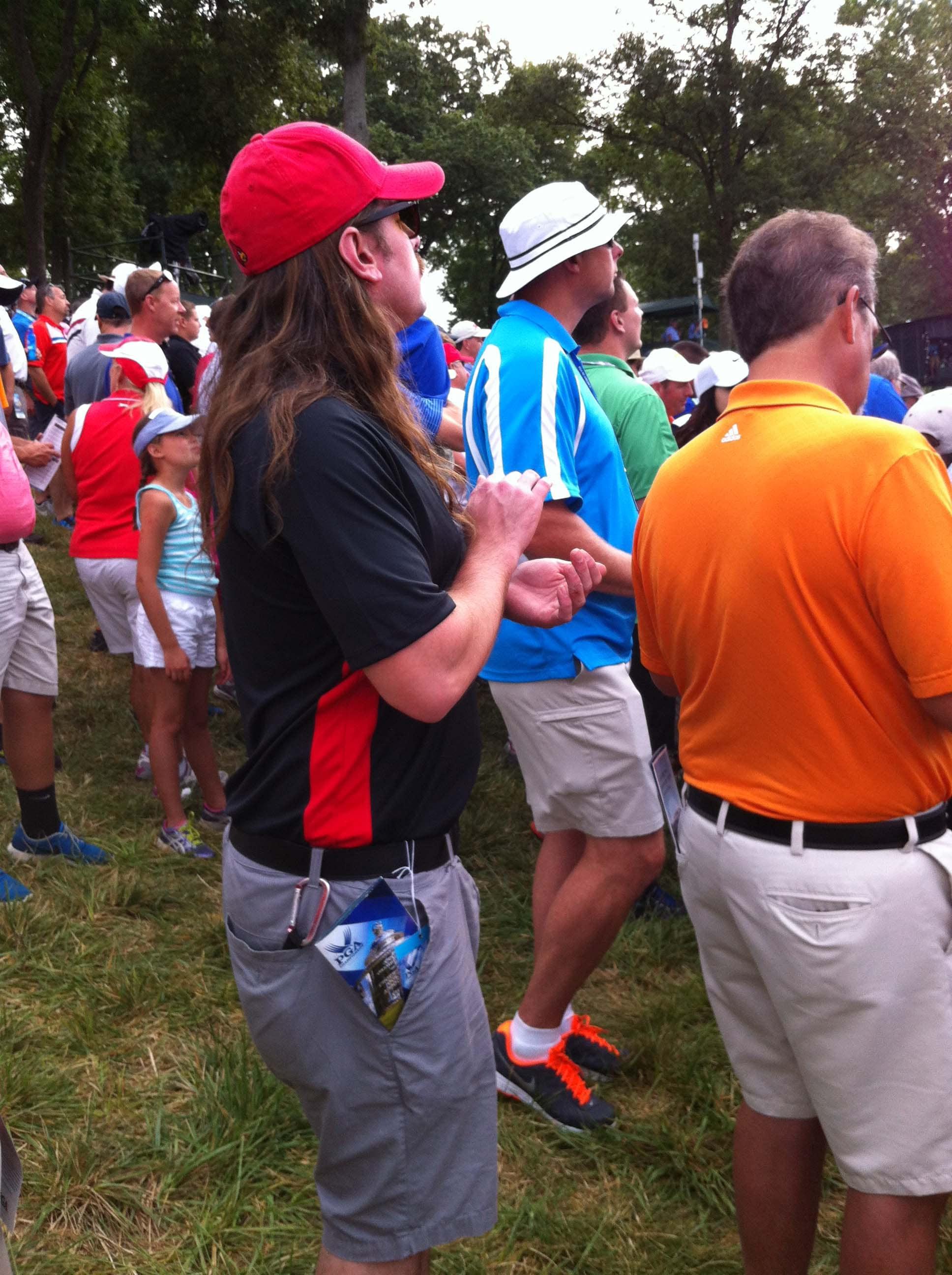 Joe Dirt, golf extraordinaire.