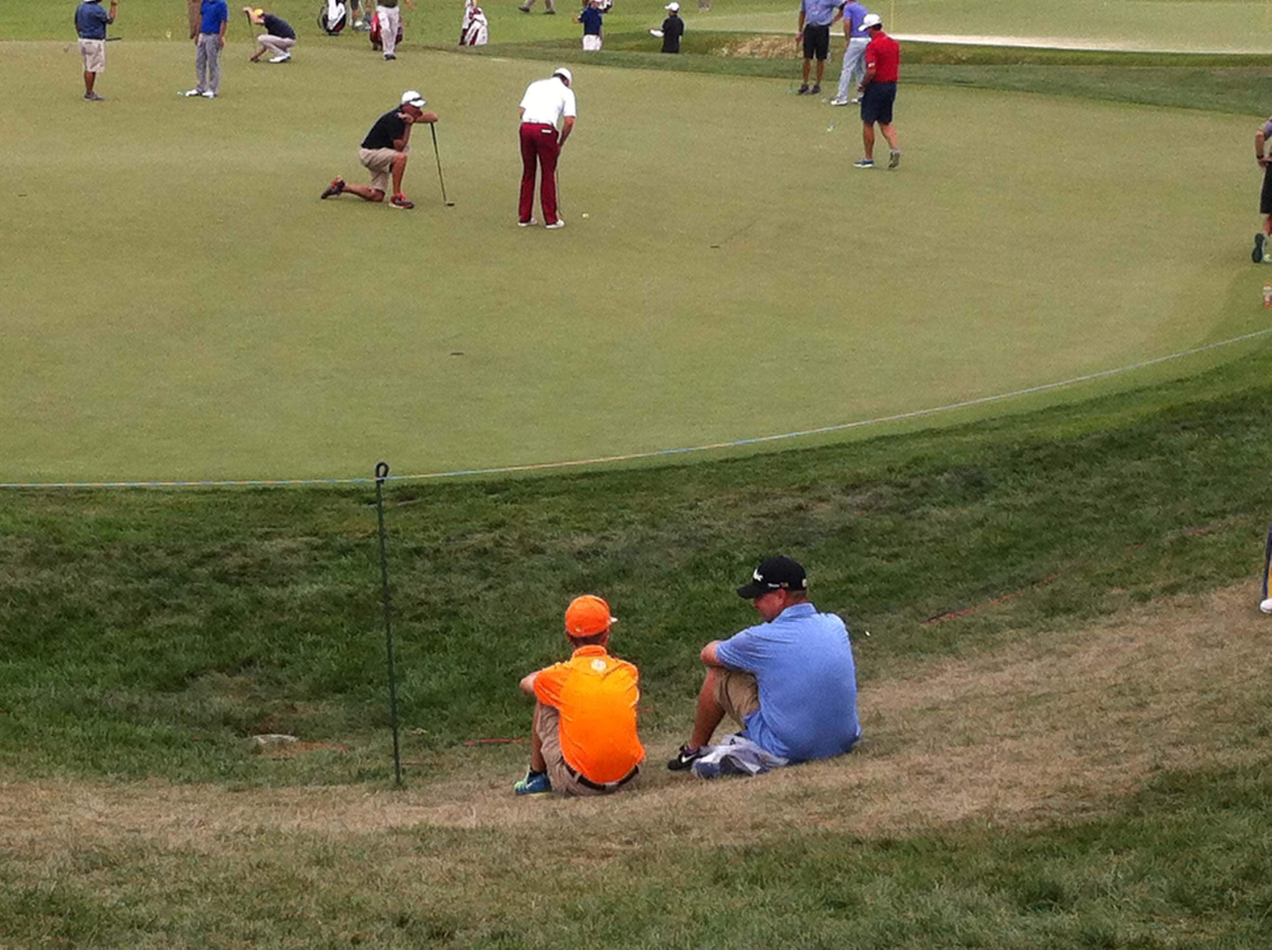 Fowler scouting the competiton