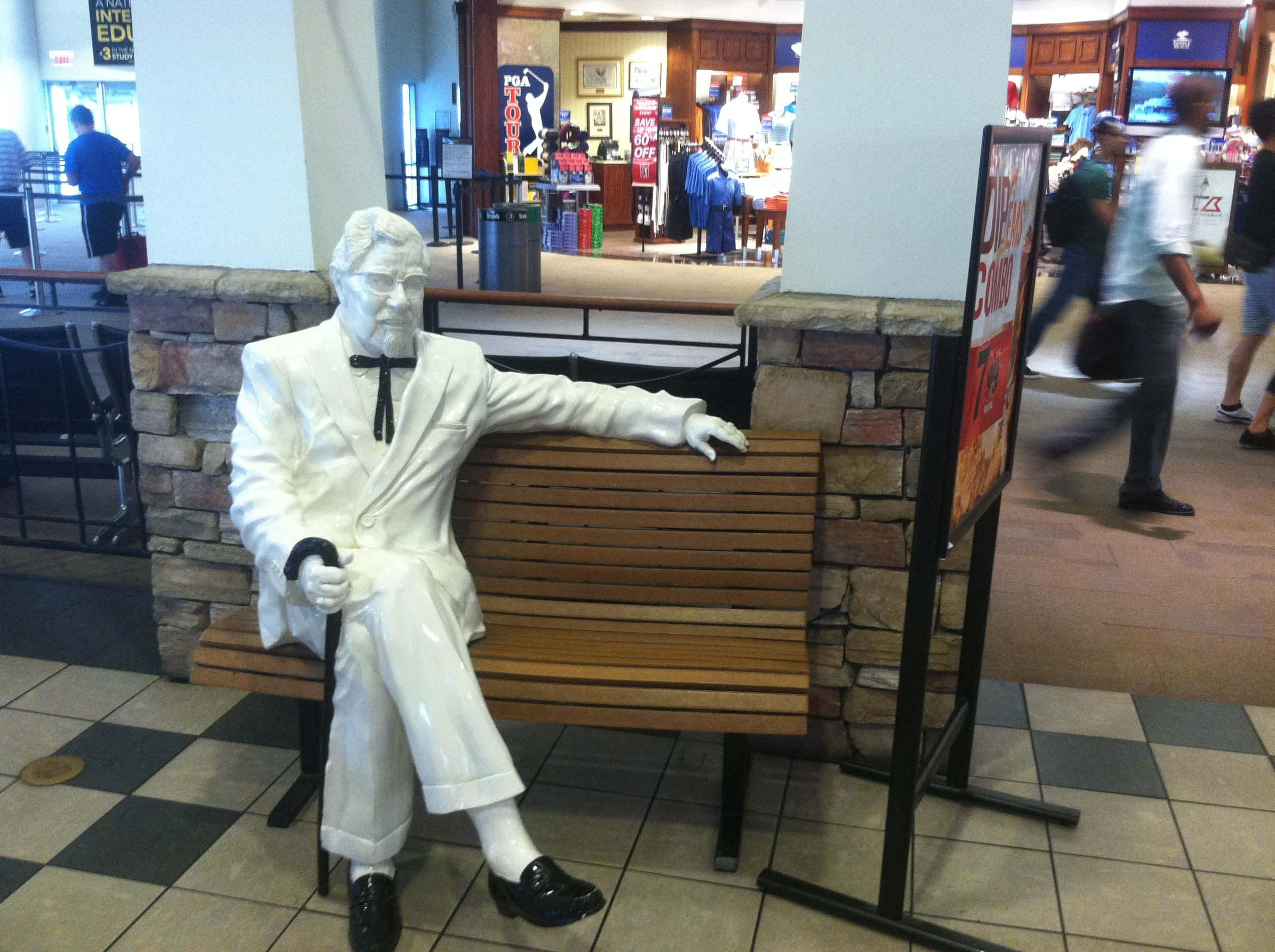 Colonel Sanders ... or
