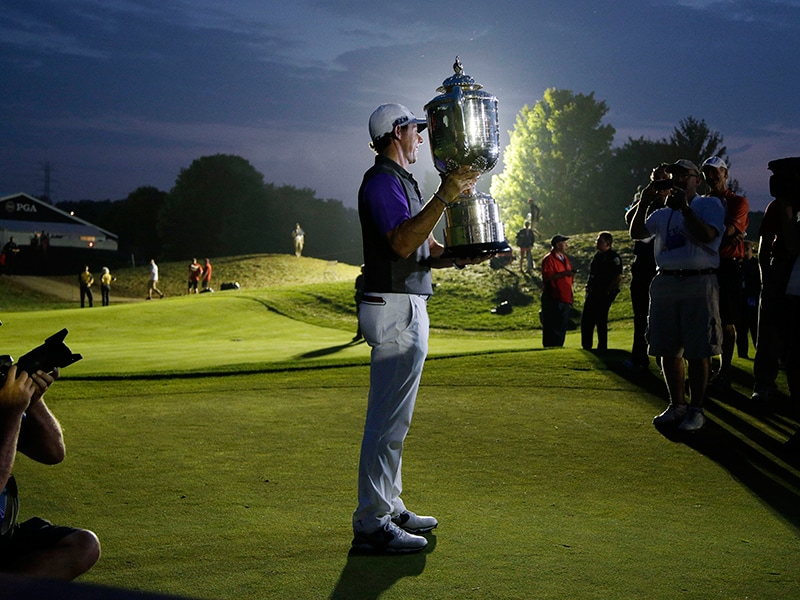 Rory McIlroy at the 2014 PGA Championship