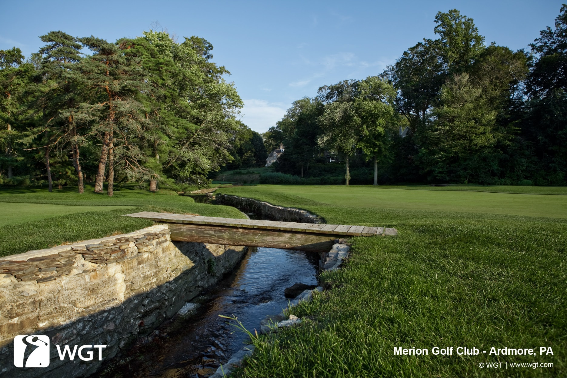 Merion Golf Club - WGT Strike Out ALS Challenge