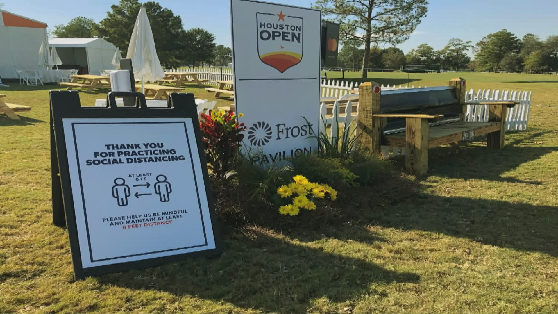 Players 'thrilled' to have fans back at Houston Open