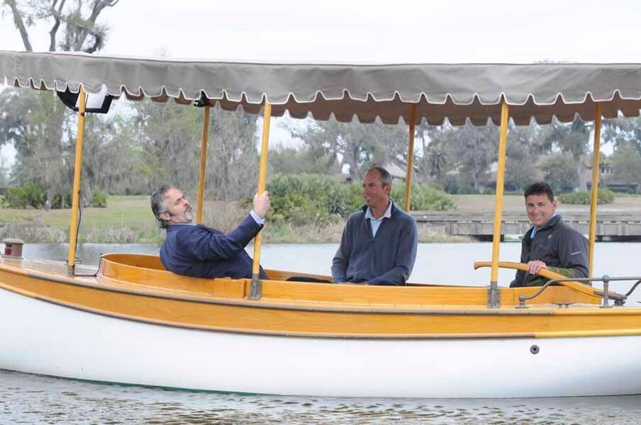 David Feherty and Matt Kuchar Take a Boat Ride.