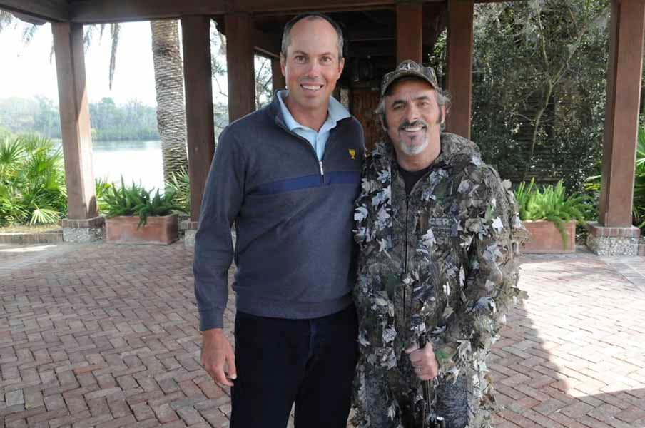 Feherty Looks Ready for Hunting Not an Interview