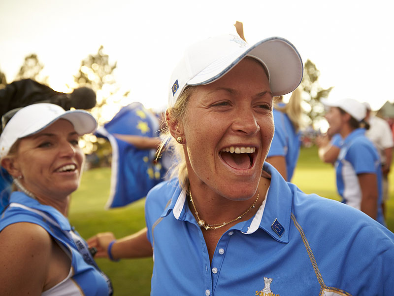3. Solheim Cup: No butts about it