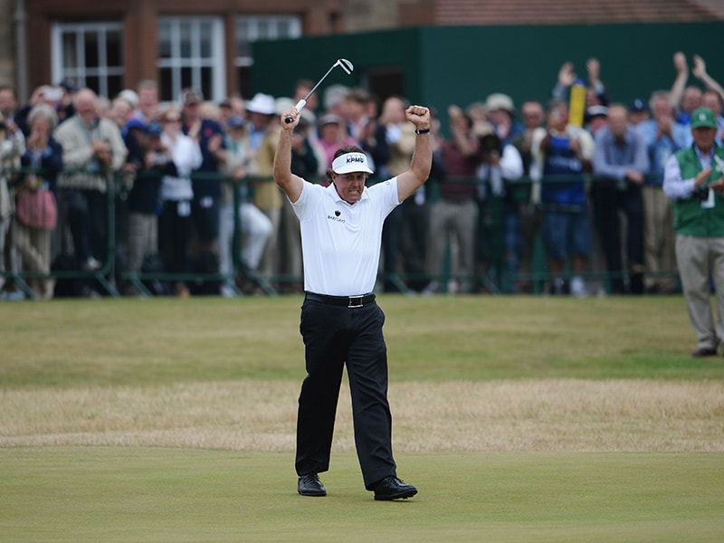 7. Phil Mickelson, No. 18 at Muirfield