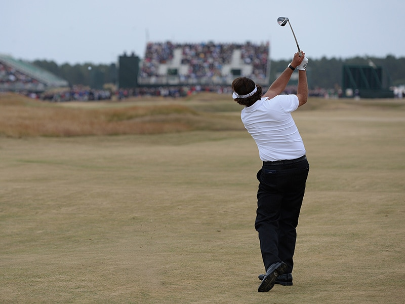 2. Phil Mickelson, No. 17 at Muirfield
